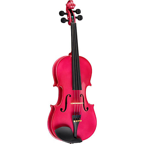 Bellafina Rainbow Series Rose Violin Outfit 1 8 Size