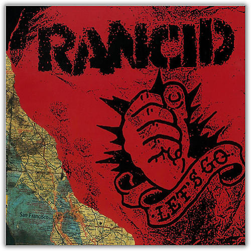 WEA Rancid - Let's Go (20th Anniversary with Bonus CD) Vinyl LP