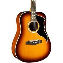 Ranger VI Vintage Reissue Dreadnought Acoustic-Electric Guitar Level 2 Honey Burst 190839558114