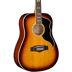 eko ranger xii vintage reissue 12 string dreadnought acoustic electric guitar honey burst. Black Bedroom Furniture Sets. Home Design Ideas