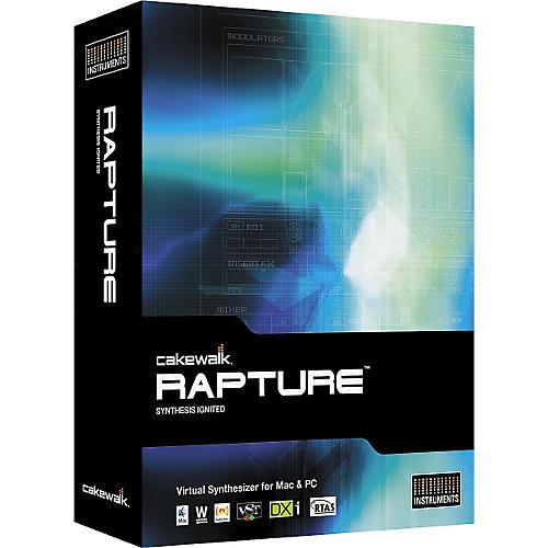 Cakewalk Rapture Virtual Synthesizer