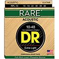 DR Strings Rare Phosphor Bronze Lite Acoustic Guitar Strings thumbnail