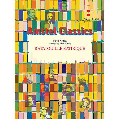 Amstel Music Ratatouille Satirique (Score Only) Concert Band Level 3 Arranged by Johan de Meij
