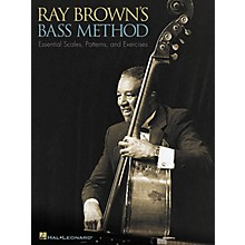 Hal Leonard Ray Brown's Bass Method Book