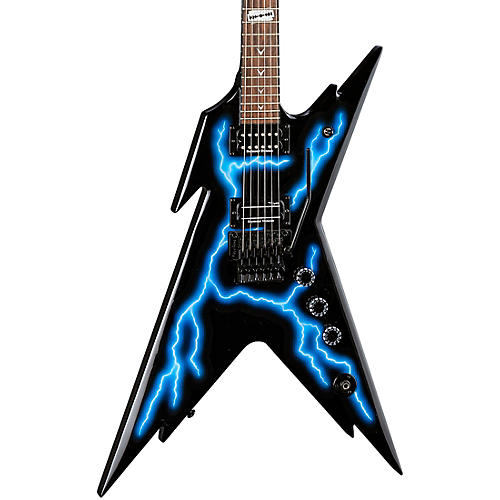 Dean Razorback Lightning Electric Guitar With Case