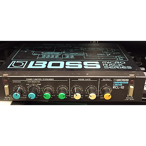 Boss Rcl-10 Effect Pedal