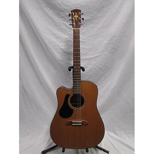 used alvarez rd20scelh acoustic electric guitar natural guitar center. Black Bedroom Furniture Sets. Home Design Ideas