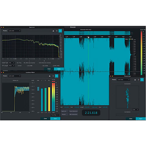 2nd Sense ReSample Audio Analyzer (Download)