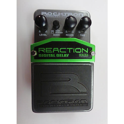Rocktron Reaction Digital Delay Effect Pedal