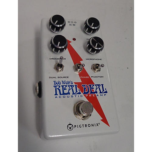 Pigtronix Real Deal Acoustic Preamp Pedal