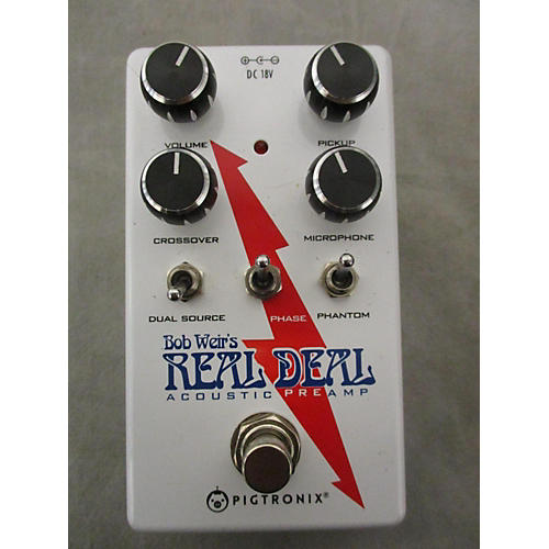 Pigtronix Real Deal Microphone Preamp