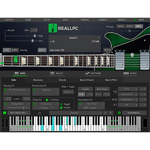 MusicLab RealLPC Les Paul Custom Virtual Guitar Software Download