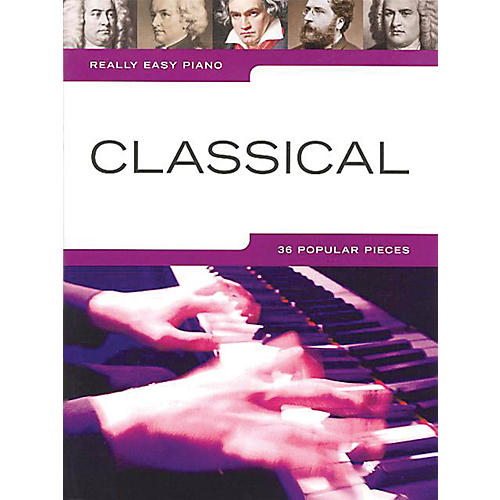 Music Sales Really Easy Piano: Classical Music Sales America Series Softcover