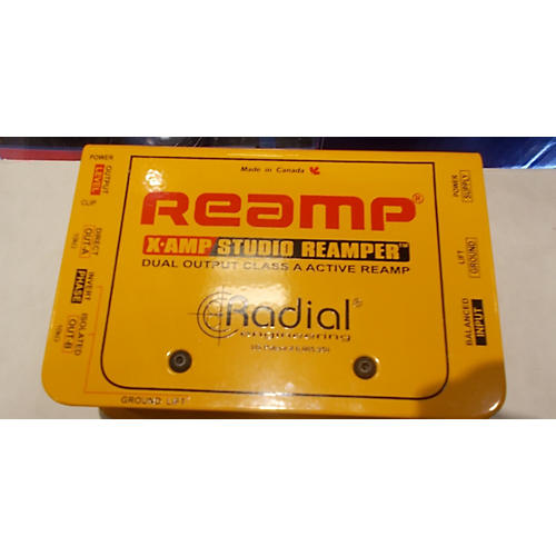 In Store Used Reamp Bass Preamp