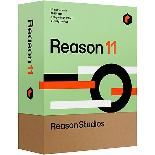 Reason Studios Reason 11 EDU 10-User Network Multi-License (Boxed)