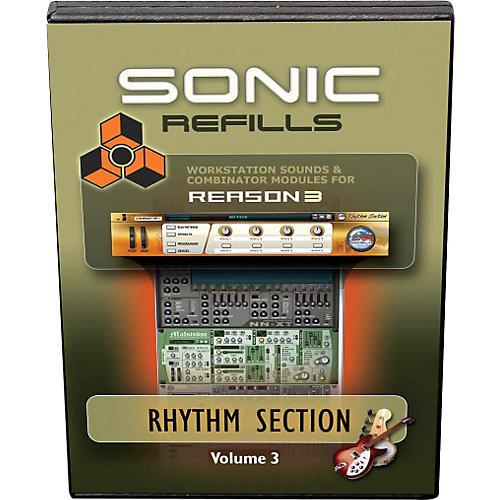 Sonic Reality Reason 3 Refills Vol. 03: Rhythm Section