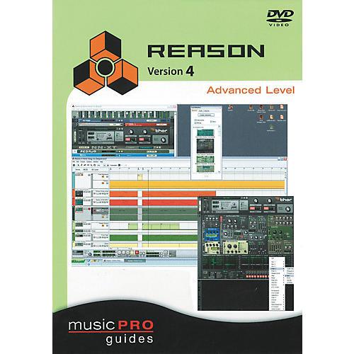 Hal Leonard Reason 4 Advanced Level - Music Pro Series (DVD)