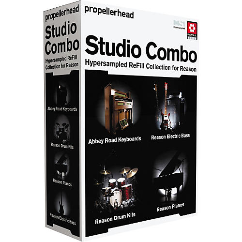 Propellerhead Reason 4 Studio Combo Bundle