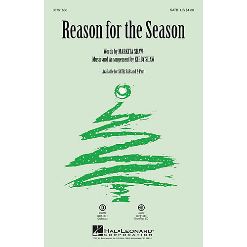Hal Leonard Reason for the Season Orchestra Composed by Kirby Shaw