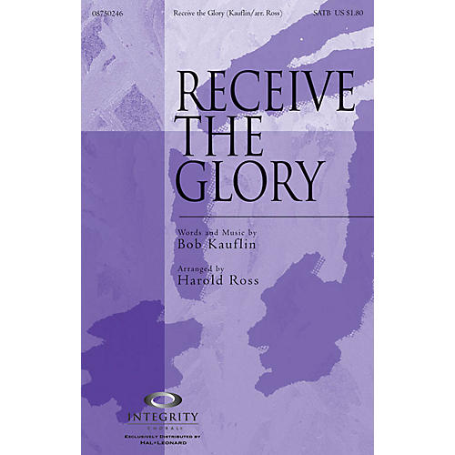 Integrity Choral Receive the Glory CD ACCOMP Arranged by Harold Ross