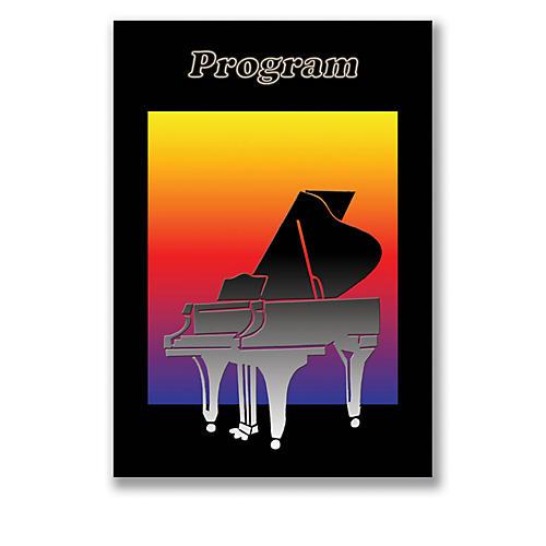 SCHAUM Recital Program #78 - Piano Silhouette Educational Piano Series Softcover