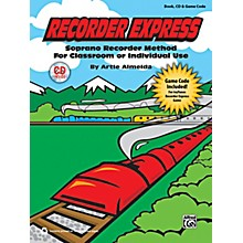 Alfred Recorder Express Book, CD & Game Code