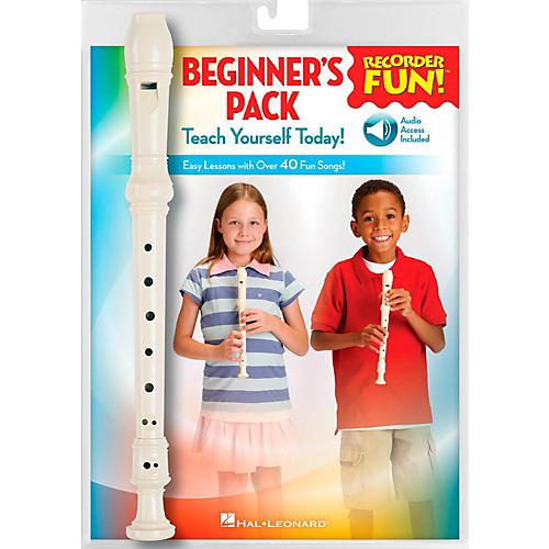 Hal Leonard Recorder Fun! Beginner's Pack Book/Online Audio/Instrument