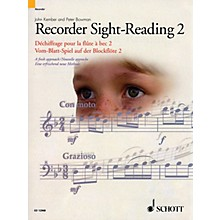 Schott Recorder Sight-Reading 2 Misc Series Written by John Kember