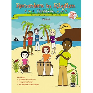 Alfred Recorders in Rhythm: Caribbean Book/CD by Alfred