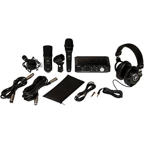 Mackie Recording Bundle with Onyx Producer Interface, EM89D Dynamic Mic, EM91C Condenser Mic and MC-100 Headphones