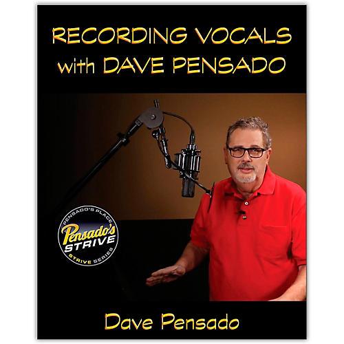 Hal Leonard Recording Vocals with Dave Pensado Book/Media Online