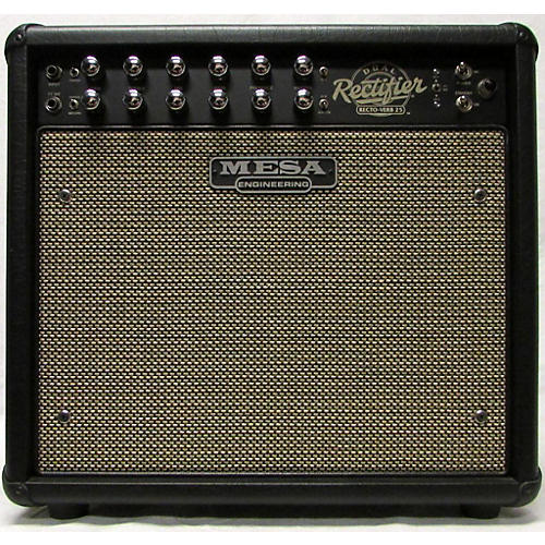 used mesa boogie rectoverb 25 1x12 tube guitar combo amp guitar center. Black Bedroom Furniture Sets. Home Design Ideas