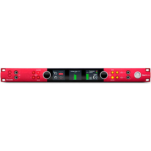 Focusrite Red 8Line Thunderbolt 3 Audio Interface with Dante