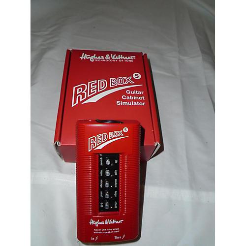 Hughes & Kettner Red Box 5 Guitar Preamp