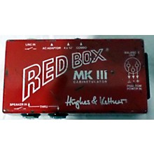 Hughes & Kettner Red Box MK III Cab Simulator Direct Box