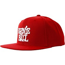 Ernie Ball Red Cap with White Ernie Ball Logo