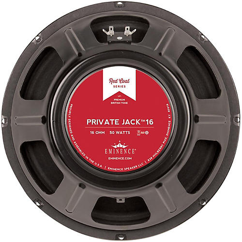 Eminence Red Coat Private Jack 12