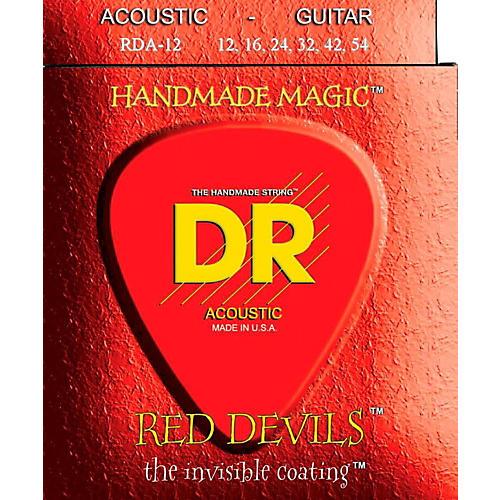 DR Strings Red Devils Medium Acoustic Guitar Strings