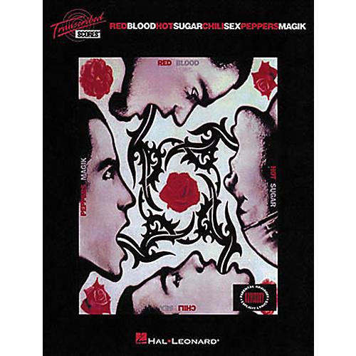 Hal Leonard Red Hot Chili Peppers - BloodSugarSexMagik Transcribed Score Book