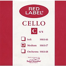 Super Sensitive Red Label Cello C String