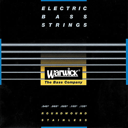 Warwick Red Label Stainless Wound Medium 5-String Bass Strings