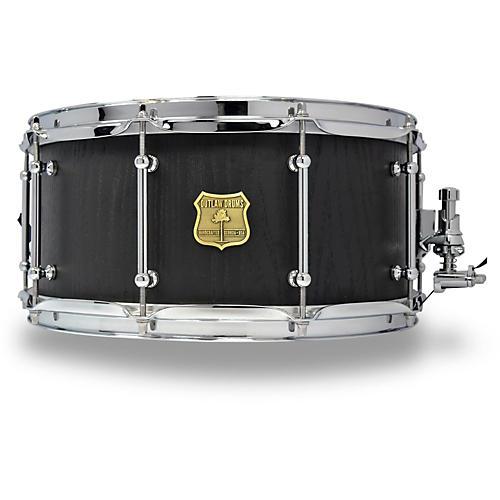 outlaw drums red oak stave snare drum with chrome hardware guitar center. Black Bedroom Furniture Sets. Home Design Ideas