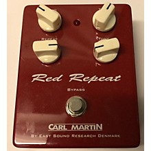 Carl Martin Red Repeat Delay Effect Pedal
