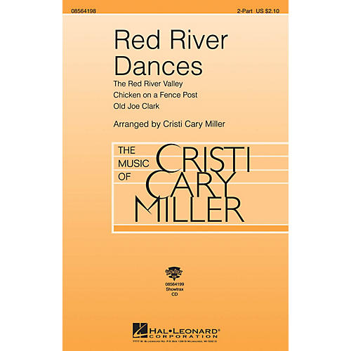 Hal Leonard Red River Dances 2-Part arranged by Cristi Cary Miller