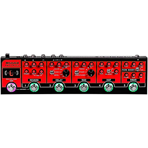 Mooer Red Truck Multi-Effects Pedal