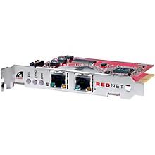 Focusrite RedNet PCIeR Dedicated Dante Audio Interface Card With Network Redundancy For Windows Or Mac Level 1