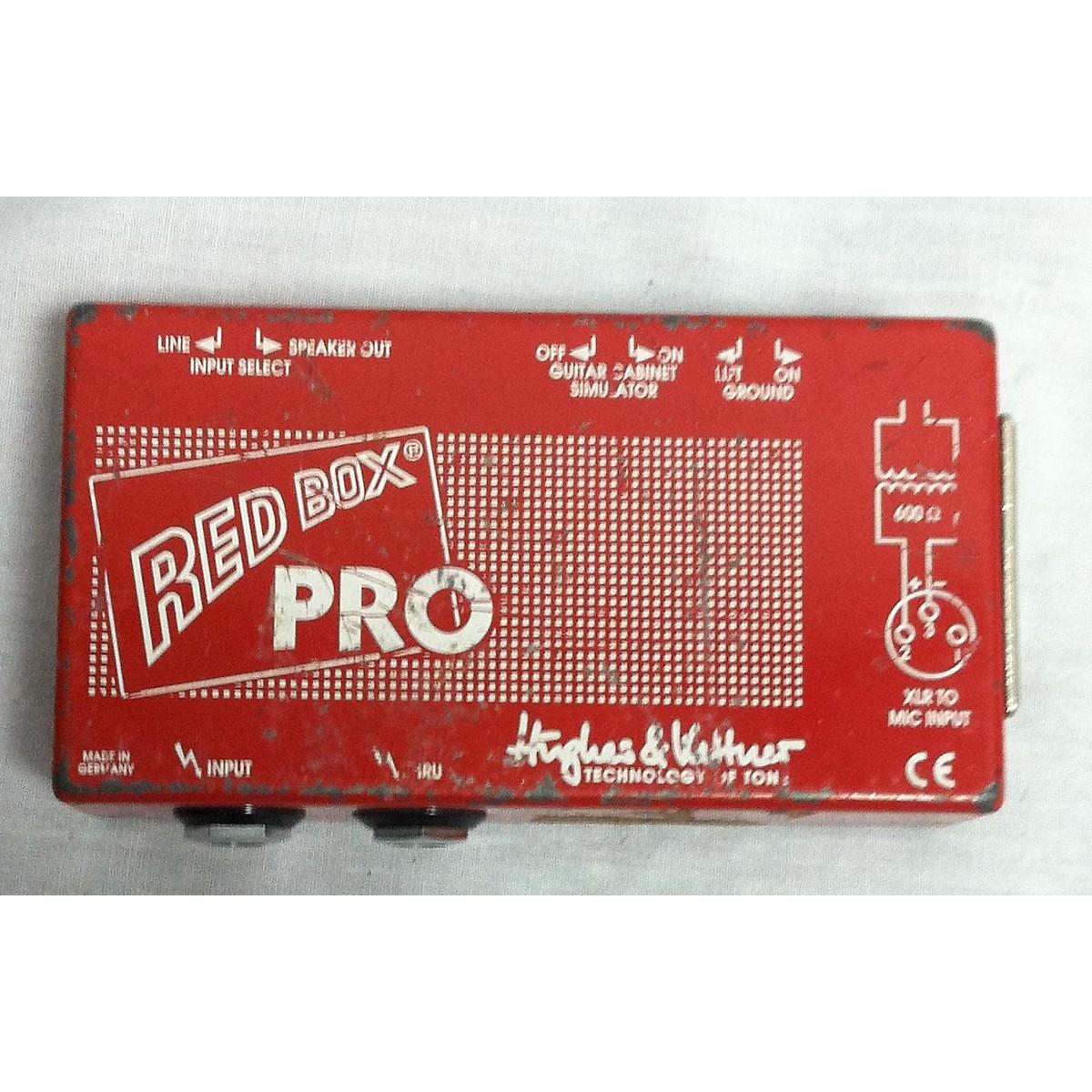 Hughes & Kettner Redbox Pro Direct Box