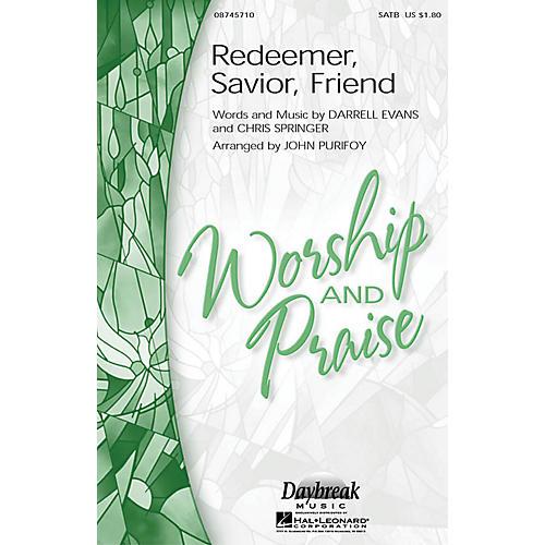 Hal Leonard Redeemer, Savior, Friend SAB Arranged by John Purifoy