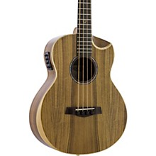 Redlands Concert Acoustic-Electric Bass Guitar Koa