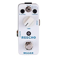 Mooer Reecho Digital Delay Guitar Effects Pedal